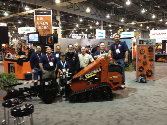 Grand Prize Winner - We won this Ditch Witch SK755 at the ARA Show in Las Vegas